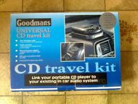 Goodmans Universal CD Travel Kit