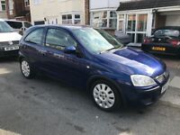 Vauxhall corsa 1.0 litre 44,000 miles 12 months mot full service history hpi clear air con