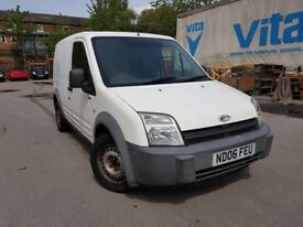 06 plate - ford transit connect - one year mot
