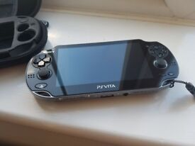 PS VITA - Playstation Vita Slim - LIKE NEW (includes case, charger and cover)
