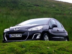 2013 62 Peugeot 308 Active 1.6HDi Diesel, Warranty, One Owner, Aircon, Great Family Car