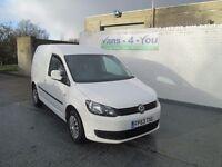 2014 model caddy trendline 102 brake full service history full years mot van is like new