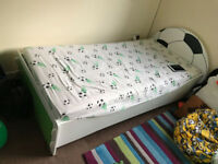 Child's football themed bed