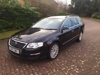 Volkswagen Passat highline 2ltr tdi 140bhp top spec leather 10reg new cam belt fsh 1 year mot