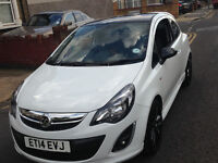 Vauxhall Corsa Limited Edition 1.2 2014 Lowest mileage only 7800