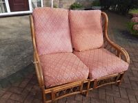 2 seater bamboo chair free delivery