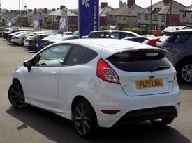 FORD FIESTA 1.0 ST-LINE NAVIGATION 3dr (125) ** 1 Private Owner ** (white) 2017