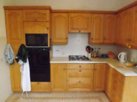 Pine kitchen unit doors and drawer fronts