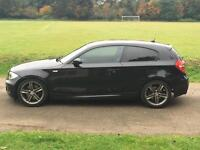 2008 BMW 123D M SPORT LCI 90K FBMWSH LOOKS AND DRIVES GOOD FULLY LOADED LEATHER TWIN TURBO 118d 120d