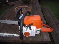stihl ms 230c chainsaw 2010