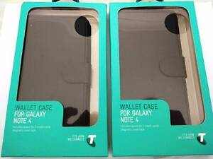 Telstra leather wallet case for Galaxy Note 4 - New never used Salisbury Brisbane South West Preview
