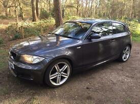 Bmw 120i M-Sport full extras! Grey! 57plate Manual, Petrol. Low mileage!
