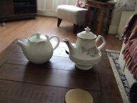 Two Tea Pots for sale
