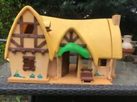 Disney Snow White cottage, dolls and accessories