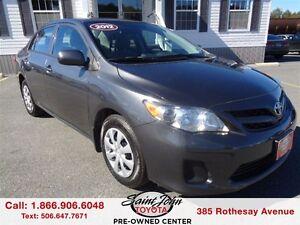 2012 Toyota Corolla CE $120.17 BI WEEKLY!!!