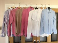 8 x Mens Small Shirts various brands