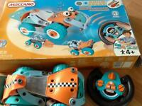 Meccano infrared remote control car