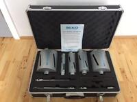 Mexco 11 Piece Dry Core Drill Kit Slotted X90 Range