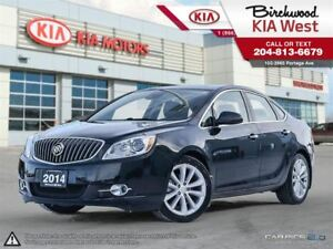 2014 Buick Verano Leather **Wifi / Leather / Navigation**
