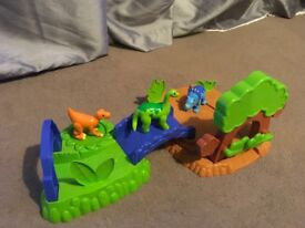 Dinosaurs and land