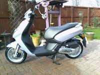 50cc scooter low miles mint condition