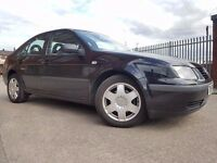 Volkswagen Bora 1.9 TDI S 4dr FSH+LONG MOT+ALLOY+CLEAN EXAMPLE RING NOW FOR MORE INFO 07735447270