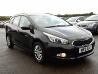2012 (DEC) kia ceed ecodynamics 1.4 diesel, low miles, motd dec 2017 full history