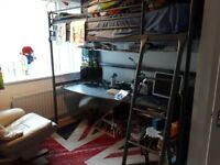 Ikea Svarta Bunk Bed Desk