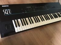 Ensoniq sq1 plus synth sequencer