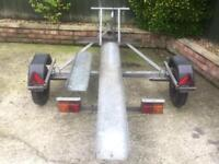 Heavy duty Galvanised Motorbike Trailer + ramp
