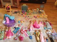 Large Barbie Toy Bundle