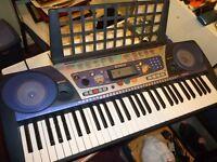 yamaha psr 262 full size digital light weight keyboard,has hundreds of voices,styles etc..