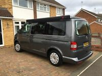 For Sale VW Transporter Campervan as new 2014 converstion very high spec 4 seat belts sleeps 4