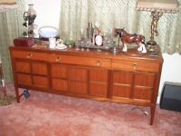 Parker Knoll Teak Nathan Sideboard. Great condition. 1970's Retro.