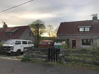 Charming house located in the Scottish countryside near Aberdeen city