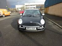 2002 MINI COOPER 1.6 PETROL.FULL YEAR MOT JUST DONE,VERY CLEAN INSIDE AND OUT ,NO ADVISORY ON MOT