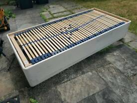 Electric single divan bed frame