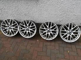 Ysm 17''alloy wheels