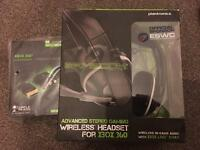 Plantronics Headset + Turtle Beach Wireless Adaptor