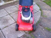 petrol lawn mower in full working order