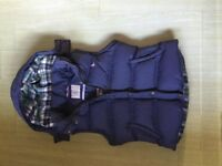 Jack Wills Hooded Gilet Size 10