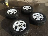 VW t4 off road syncro wheels tyres 4x4 all terrain winter 215 70 16, 16x7 Audi 5x112 cooper at3 Vito