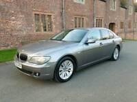 2005/55 BMW 7 SERIES 730D SE FACE-LIFT 3.0TURBO DIESEL 231BHP 6 SPEED AUTOMATIC SALOON TITANIUM GREY