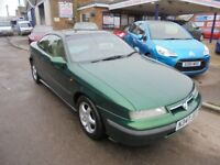 1995 N vauxhall calibra 2.5 v6 automatic coupe, last owner since 2010, 30 + cars in stock