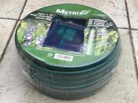 "Metrix 30 Metre 1/2"" PVC Garden Hose Pipe Kit With Fittings"
