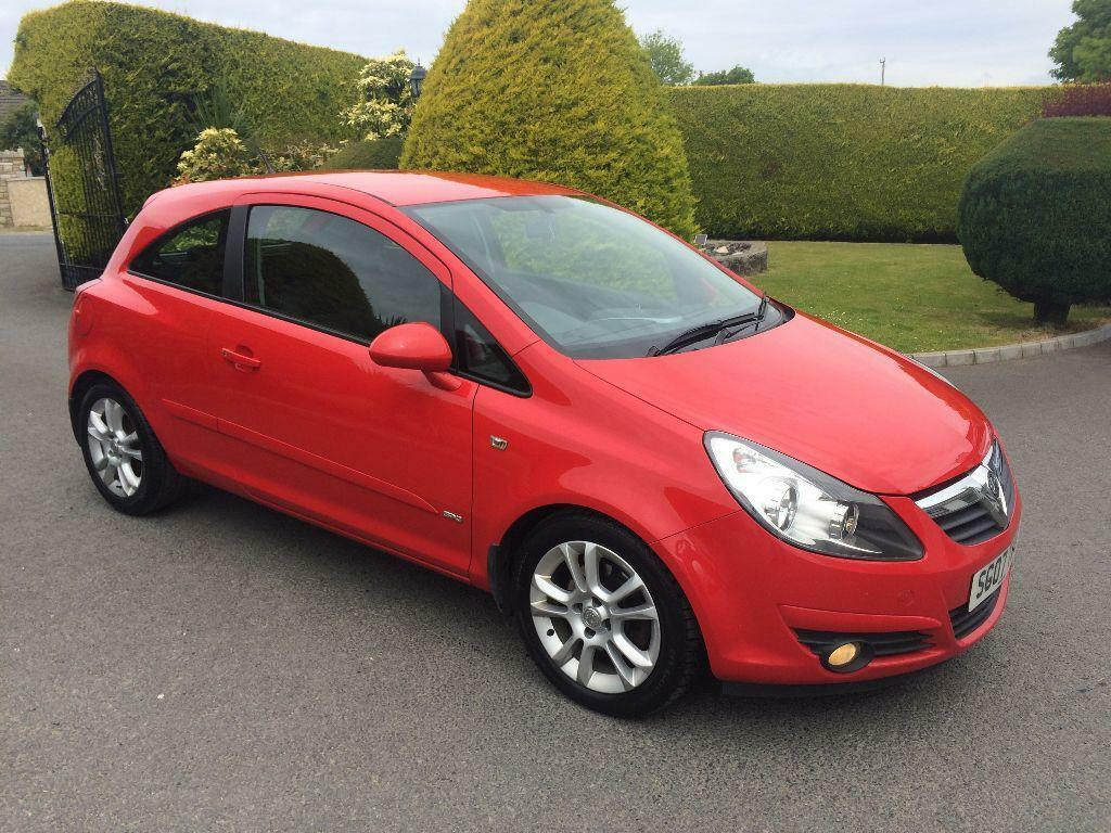 vauxhall corsa 1 3 cdti diesel 2007 3 door sxi lovely car throughout in belfast city. Black Bedroom Furniture Sets. Home Design Ideas
