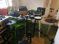 Roland drum kit and SPD SX bundle .. everything you need .