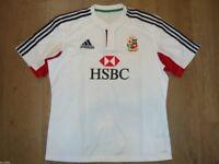 British and Irish Lions Australia 2013 Rugby Shirt Jersey Adidas HSBC XL New