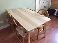 Ikea Wooden Dining Table