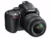 Nikon D5100 DSLR Camera with 18-55mm f/3.5-5.6 Auto Focus-S Nikkor Zoom Lens